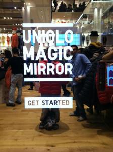 Magic Mirror de Uniqlo, un probador inteligente