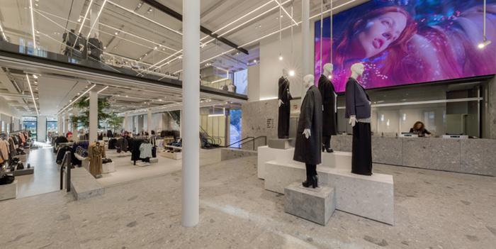 Inditex pone el máximo cuidado en el diseño de sus espacios de venta