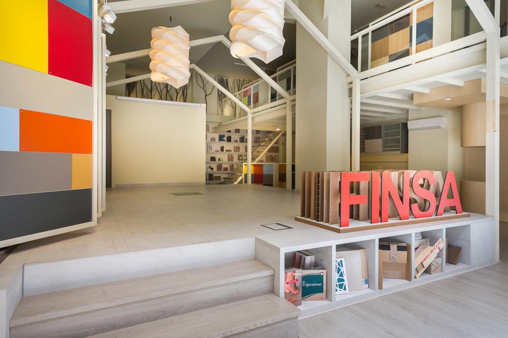 El espacio de coworking Finsa 21 en Madrid.