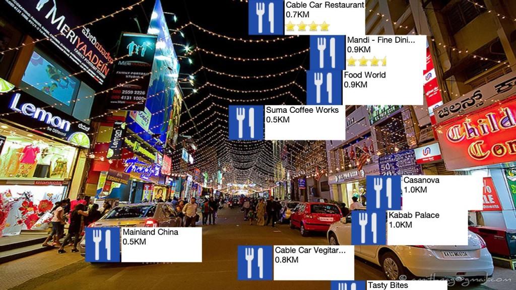 realidad virtual y realidad aumentada here city lens