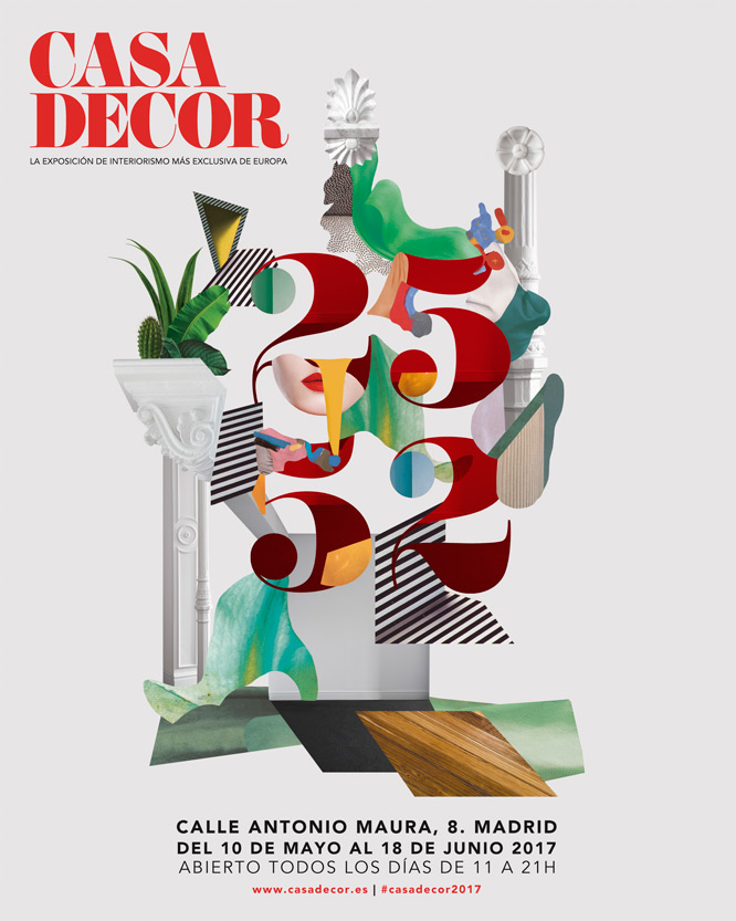 Casa Decor 2017 Cartel