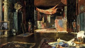 Izaskun Chinchilla se ha inspirado en las pinturas de Mariano Fortuny.