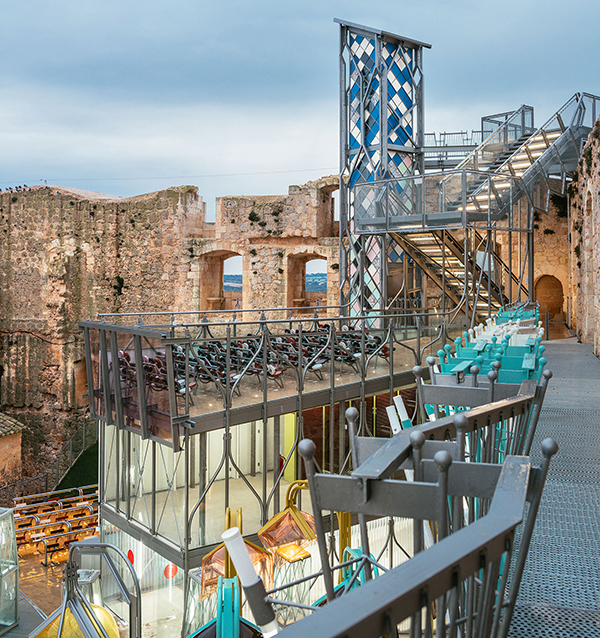 Castillo Garcimuñoz, diseñado por Izaskun Chinchilla