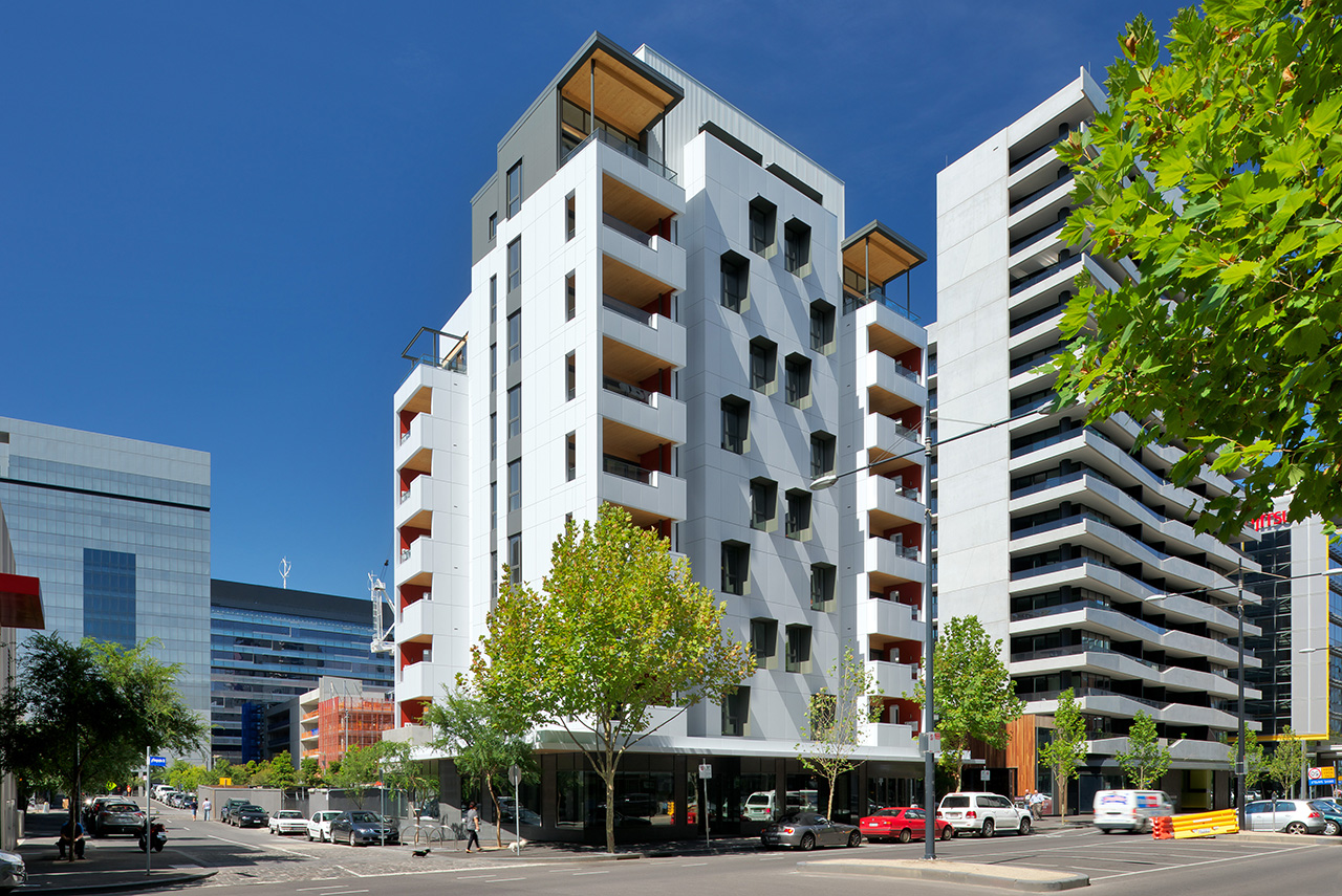 Forte Building (Melbourne). Source: lendlease.com.