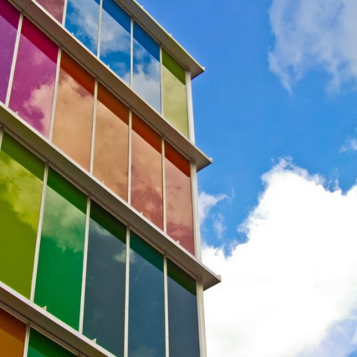 Color theory in architecture