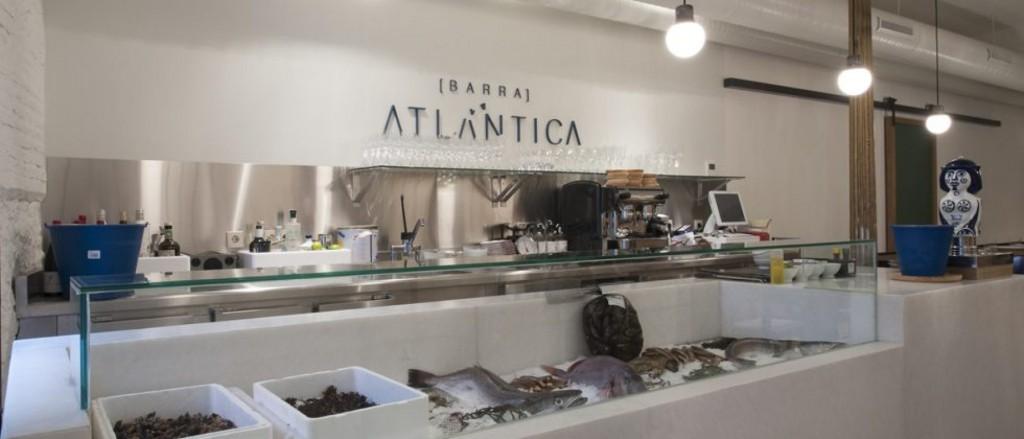 Interiorismo en un restaurante: Barra Atlántica Madrid