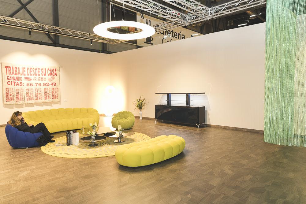 Sala Fundación Arco, diseñada por Estudio Alegría