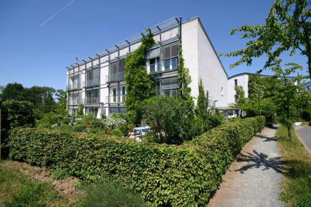 La primera casa pasiva del mundo, la vivienda de Wolfgang Feist, ya ha cumplido 25 años. Foto: Passivhaus Institut.