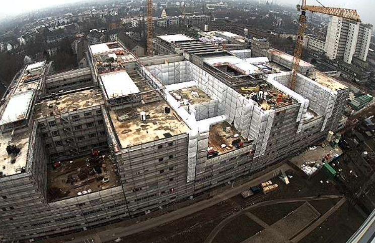 Klinikum Frankfurt Hoechst será el primer hospital certificado Passivhaus. Foto: Passivhauss Intitut.