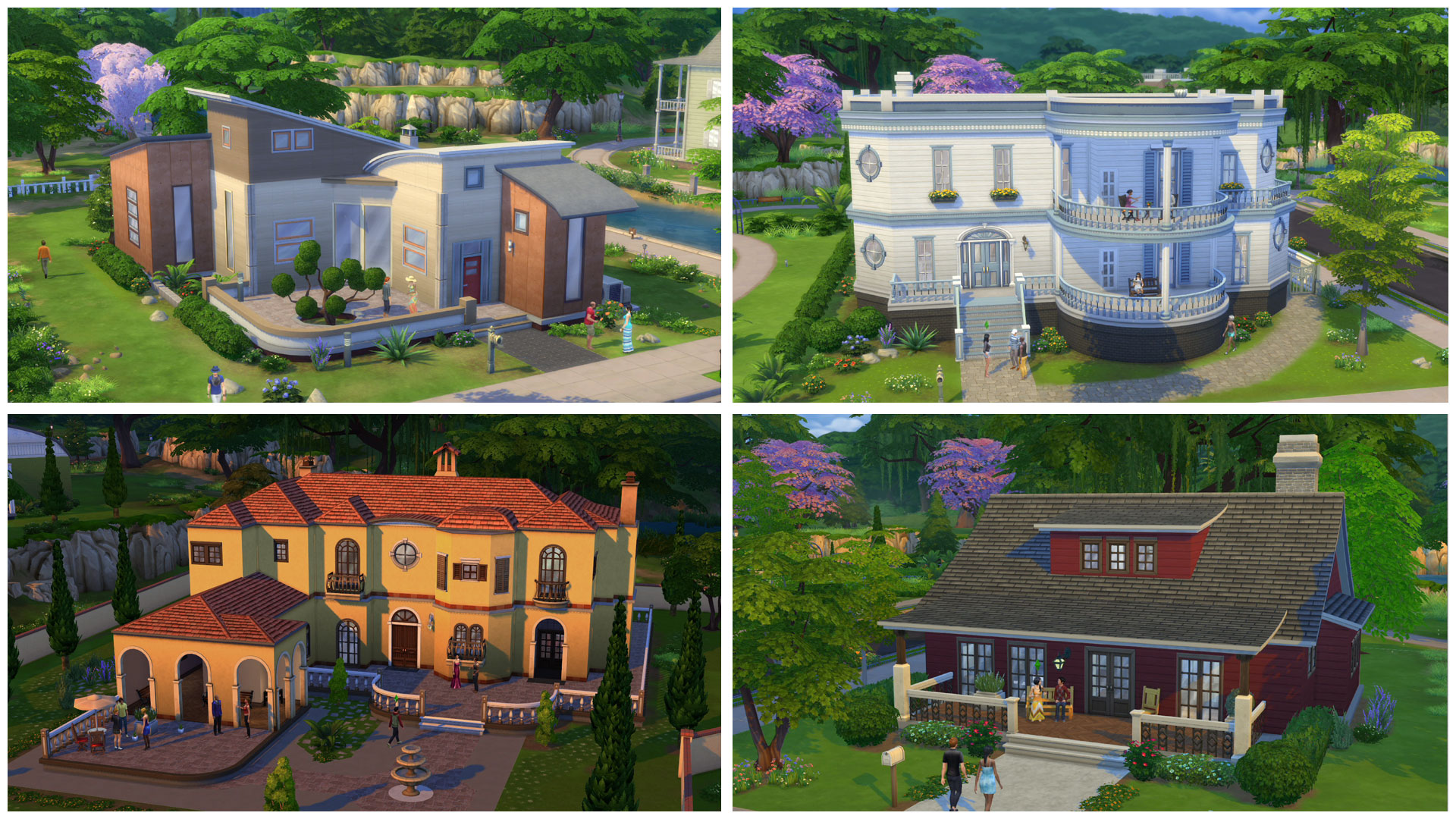 sims and architecture