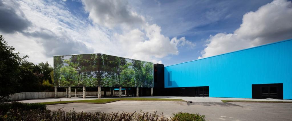 Arquitectura sostenible: en Oostkamp se aprovechan todos los elementos existentes.