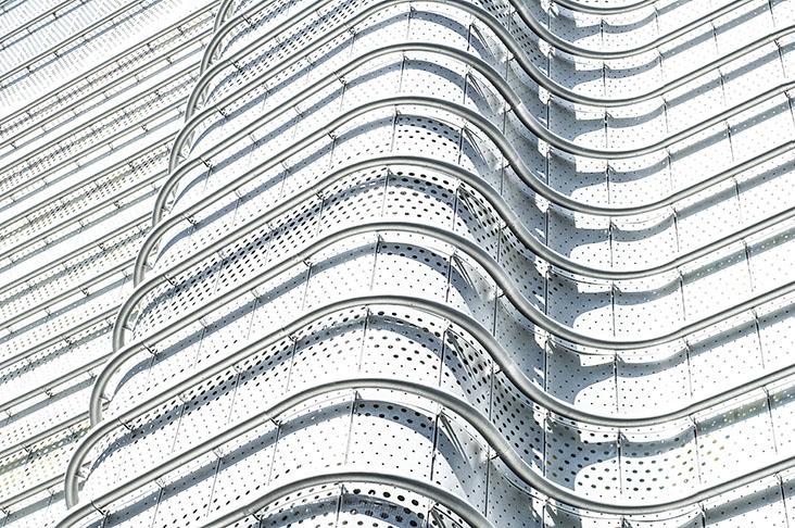 Detalle de la fachada de la Torre 30. Fotografía: Miguel de Guzmán +  Rocío Romero, Imagen Subliminal