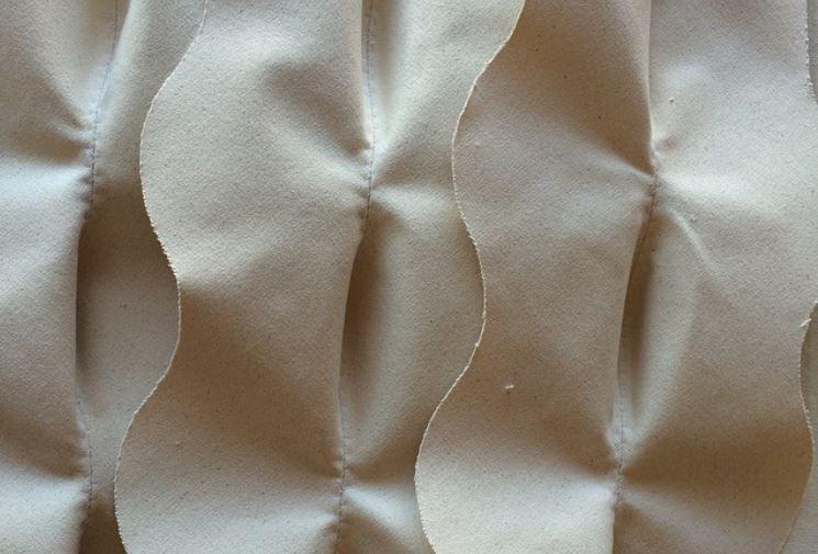 relieves en textil