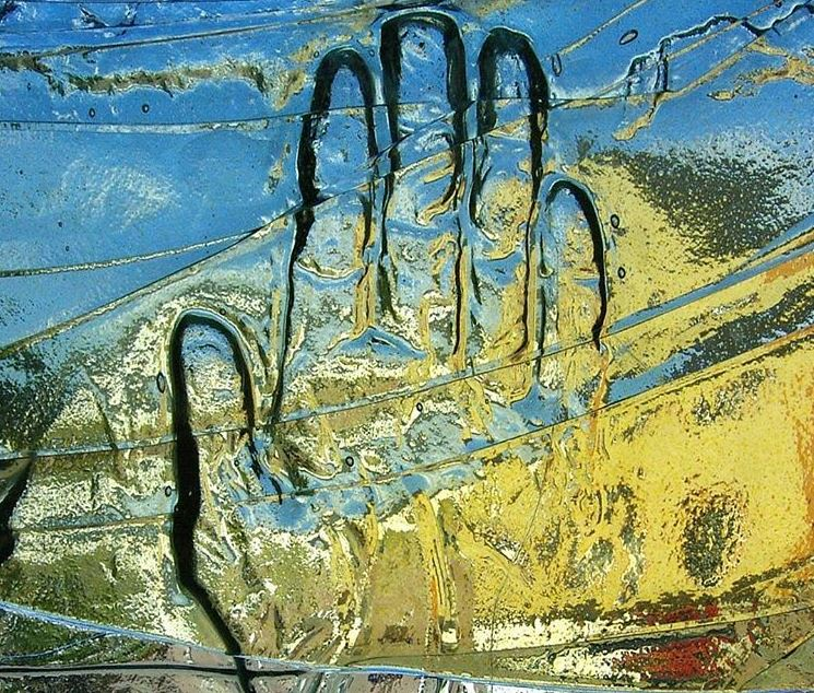 relieves en vidrio
