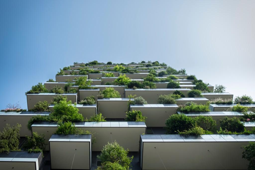 Las terrazas son uno de los elementos de las ciudades verdes