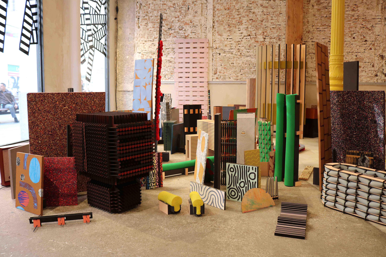 Wood in progress, Madrid Design Festival. Photo : ConnectionsbyFinsa