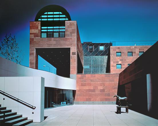 Los Angeles Contemporary Art Museum , Arata Isozaki, 1986. Photo: Yasuhiro Ishimoto