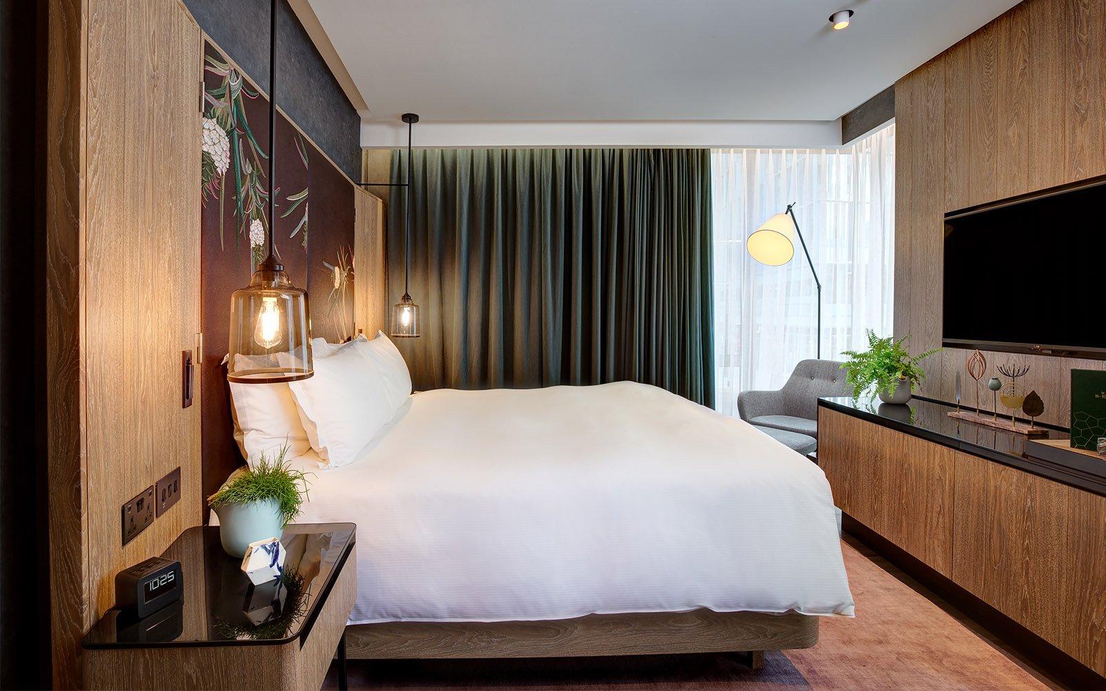 diseño vegano hotel